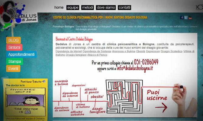 Realizzazione sito internet Dedalus
