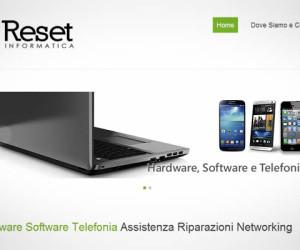 Realizzazione sito internet Reset Informatica
