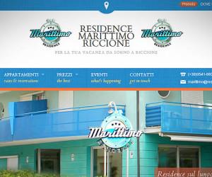 Realizzazione sito internet Residence Marittimo